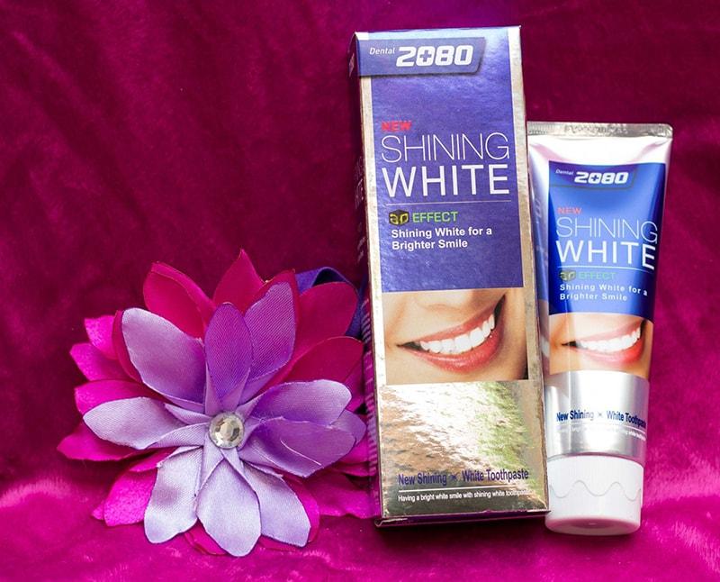 Kem đánh răng 2080 shining white có tốt không
