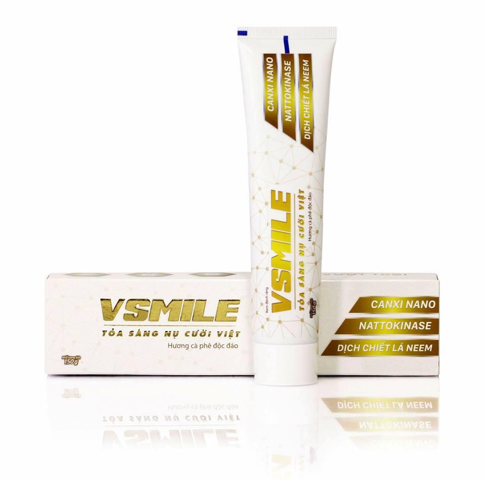 Kem đánh răng vsmile có tốt không? Giá bao nhiêu?
