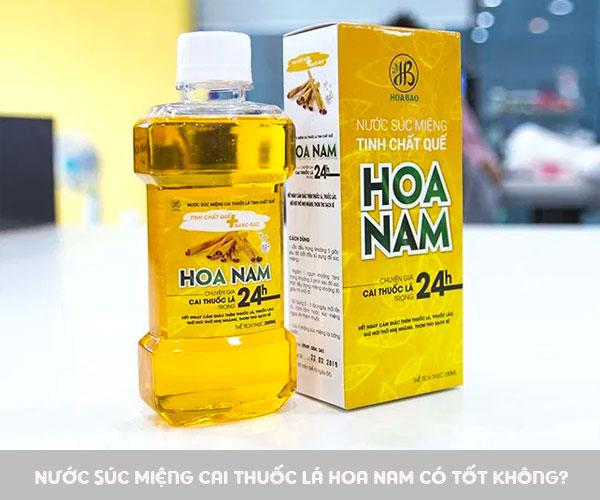 Review nước súc miệng Hoa Nam có tốt không từ chuyên gia và người dùng