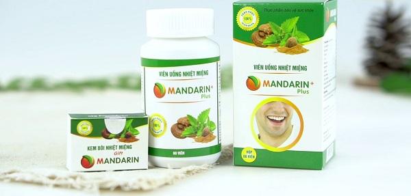 Review thuốc nhiệt miệng Mandarin có tốt không hay chỉ là quảng cáo?